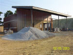This is a thumbnail photograph showing the construction progress of the FACT Transfer Center